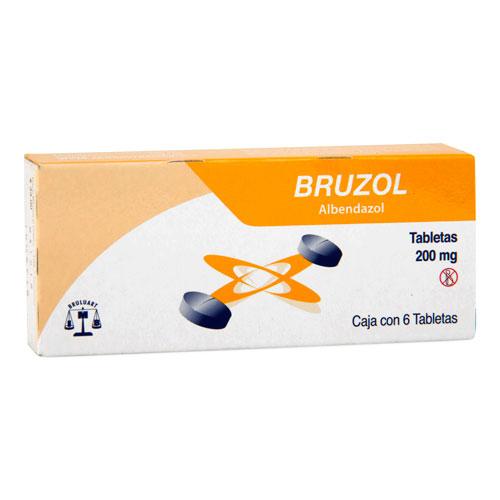 Comprar Albendazol 200Mg 6Tab