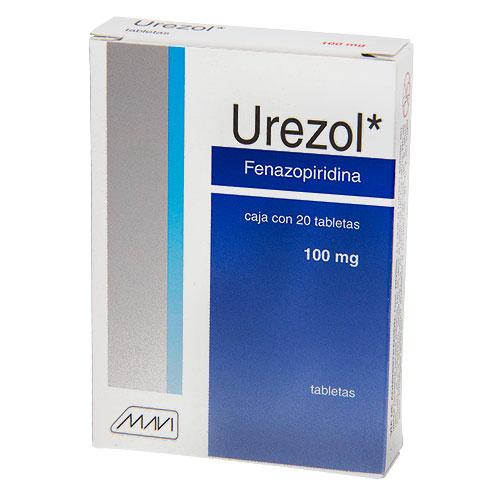 Comprar Fenazopiridina 100Mg 20Tab