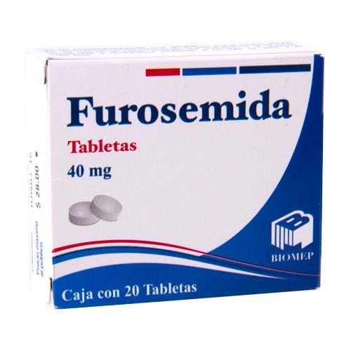 Comprar Furosemida 40Mg 20Tab