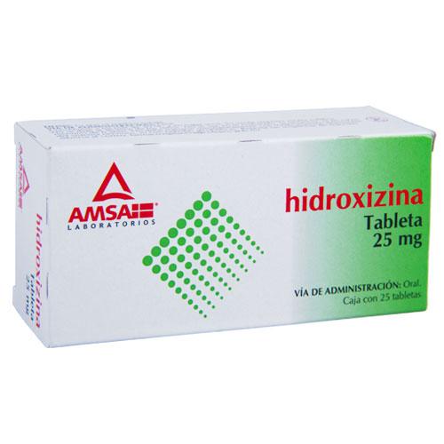 Comprar Hidroxizina 25 Mg