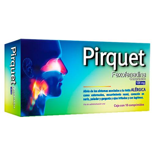 Comprar Farmacom Fexofenadina Clorh 120 Mg Pirquet