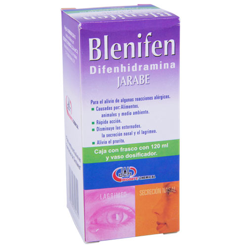 Comprar Difenhidramina 250Mg Jbe 120Ml