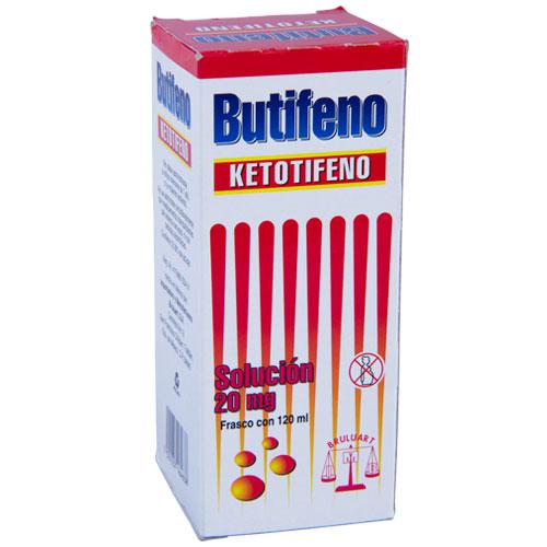 Comprar Butifeno Solución Ketotifeno (20mg)
