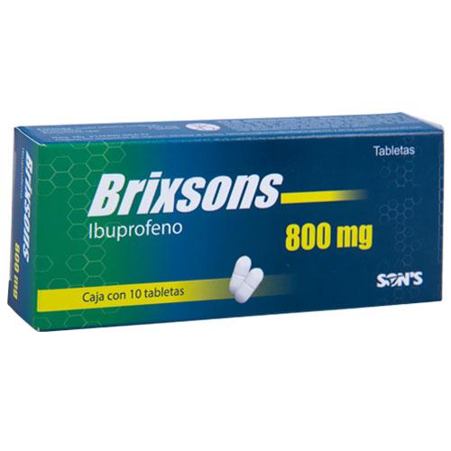 Comprar Ibuprofeno 800Mg 10Tab