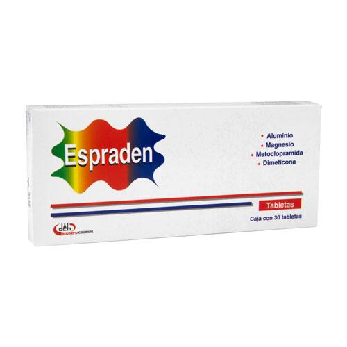 Comprar Aluminio 200 mg Magnesio 200 mg Metoclopramida 10 mg
