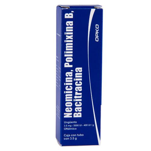 Comprar Polimixina B/Neom/Baci Ung Oft 3.5Gr