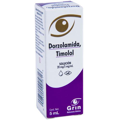 Comprar Dorzolamida Timolol tratamiento de afecciones en los ojos