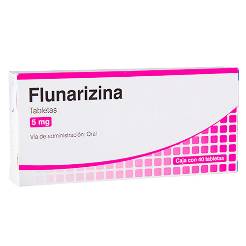 Comprar Flunarizina 5Mg 40Tab