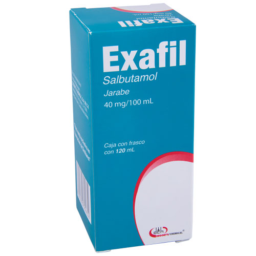 Comprar Salbutamol 40Mg/100Ml Jbe 120Ml