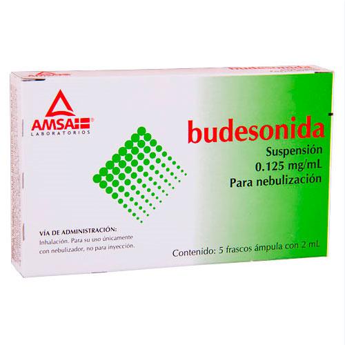 Comprar Budesonida 0.125Mg/Ml 5Amp Susp Nebul