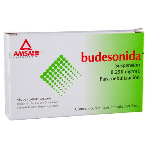 Comprar Budesonida 0.250Mg/Ml 5Amp Susp Nebul