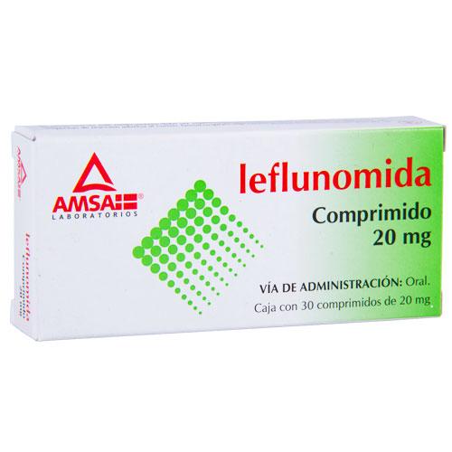 Comprar Leflunomida comprimidos orales (20 mg)
