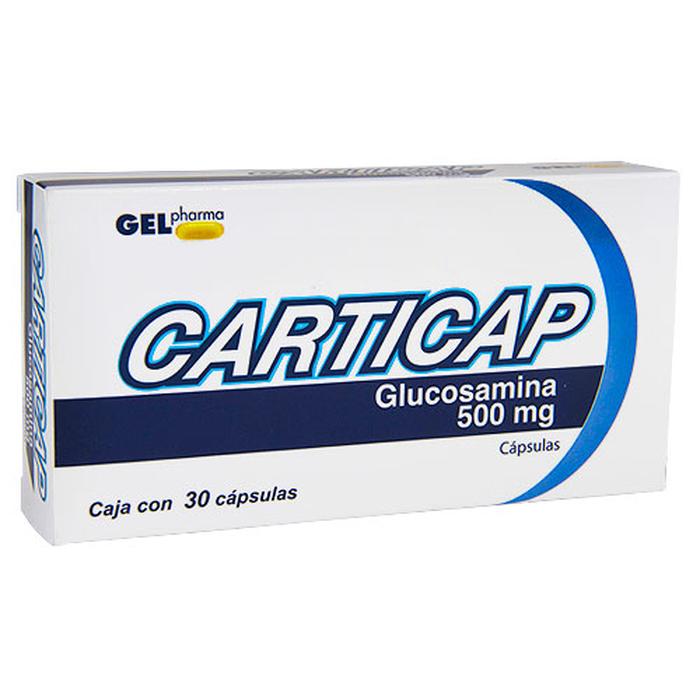 Comprar Carticap Glucosamina 500Mg 30Cap
