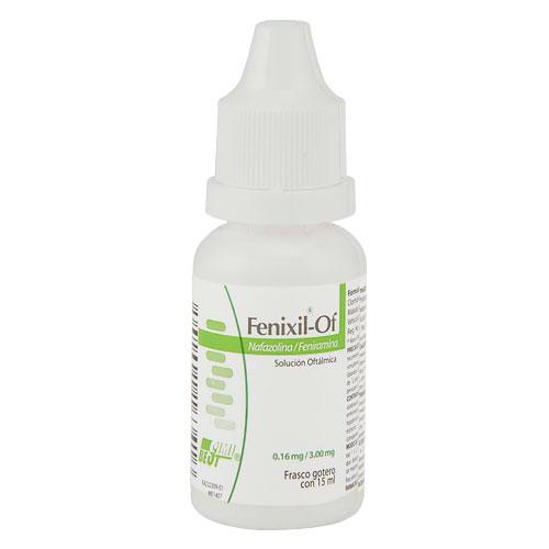 Comprar Fenixil-Of Solución Oftálmica Nafazolina + Feniramina (0.16/3mg)