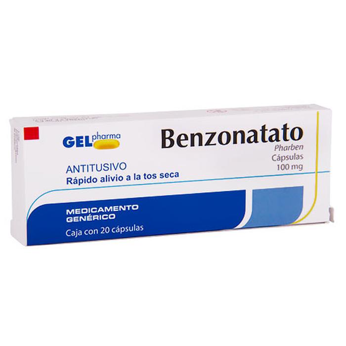 Comprar Benzonatato 100Mg 20Cap