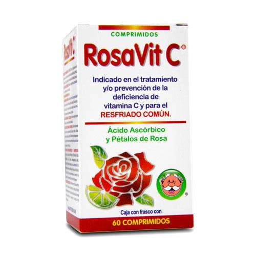 Comprar RosaVit C comprimidos resfriado común