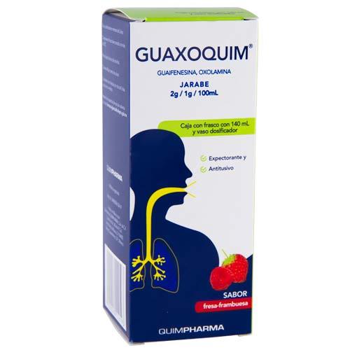 Comprar Guaxoquim Jarabe 140 Ml (2 G/1 G/100 Ml)