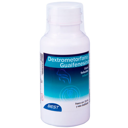 Comprar Dextrometorfano/Guaifenesina Solución Infantil 120 Ml