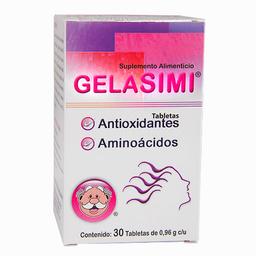 Suplemento Alimenticio Gelasimi 30 Tabletas