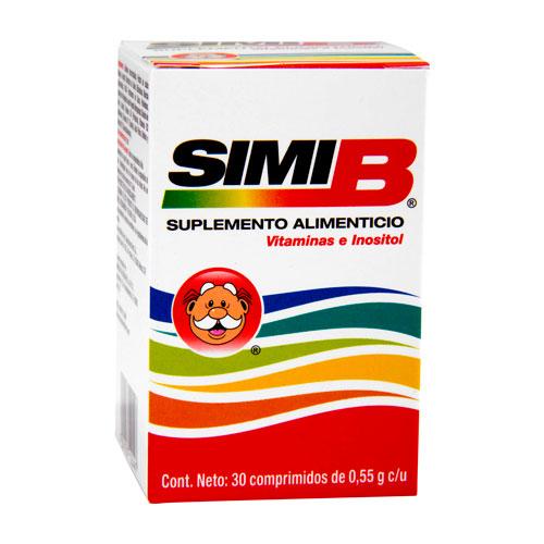 Comprar Simi-B Vit E Inositol 30Comp