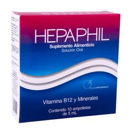 Vitamina B12/Minerales 5Ml 10Amp