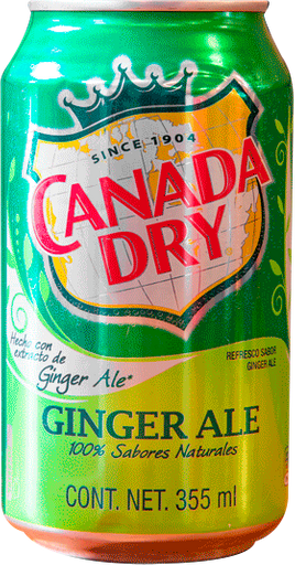 Ginger Ale Canada Dry