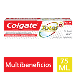 Colgate Pasta Dental Total 12 Clean Mint 75 Ml