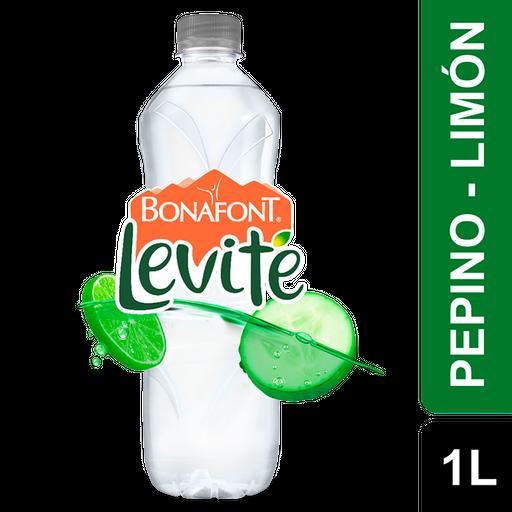 Agua Saborizada Bonafont Levite Pepino Limón 1 L