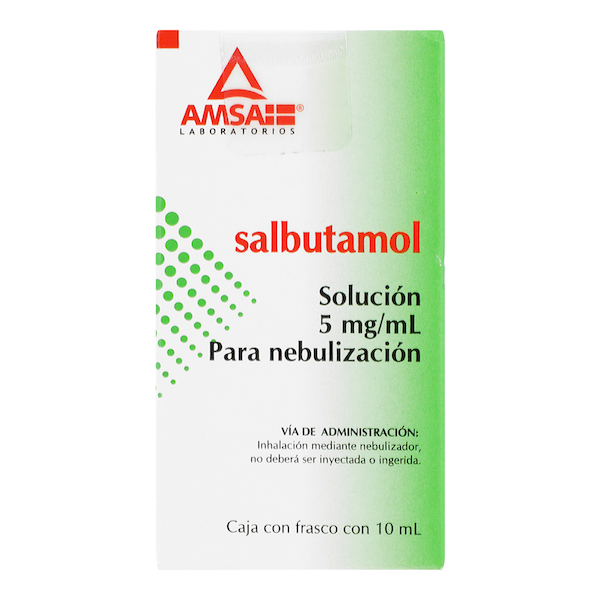 Comprar Salbutamol 5Mg/ 1 Ml Sol P/Neb