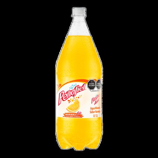 Agua Mineral Peñafiel Naranjada 2 L