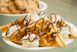 Waffle Dulce de Nutella