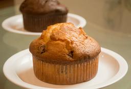 Muffin de Vainilla con Chocolate