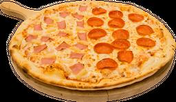 Pizza Pepperoni y Hawaiana