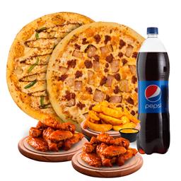 Pizza Paquete Familiar