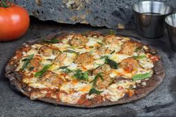 Pizza de Albóndiga Bolognesa