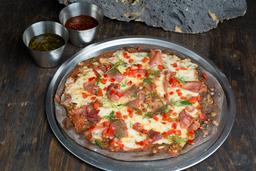 Pizza de Prosciutto y Pimiento