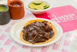 Tacos de Pollo con Mole