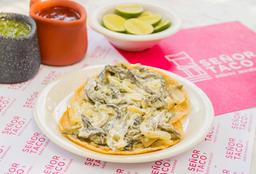 Taco Rajas con Crema