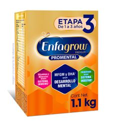Fórmula Para Lactantes Enfagrow Premium Etapa 3 2 Bolsas 550G