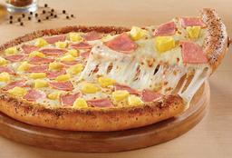 Pizza Grande Orilla Rellena de Queso Hawaiana