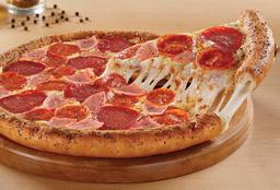 Pizza Grande Orilla Rellena de Queso Carnes Frias