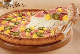 Pizza Grande Orilla Rellena de Queso Honolulu