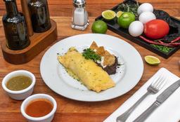 Omelette Mixto al Gratín