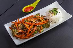 Tepanyaki de Verduras