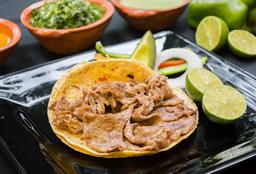 Taco Bistec en Trozos