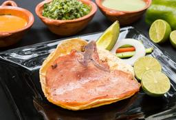 Taco Chuleta Ahumada