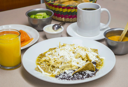 Chilaquiles Especiales