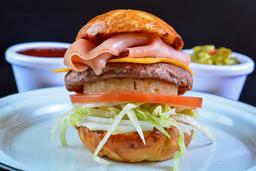 2X1 CMS Burger Hawaiana
