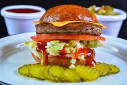2X1 CMS Burger Sencilla con Queso