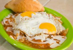 Chilaquiles Huevo